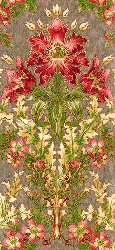 Claridge Manor - Morris Flower - at eQuilter.com
