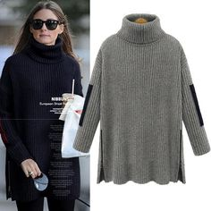 Collar sweater can enhance people's temperament, this is a very beautiful sweater.There is a subsidy for the elbow of the sweater,can make you very active .And solid color will make this sweater is very beautiful. Size:S, M, L, XL, XXL, XXXLColor:Gray, NavyNeckline:CollarItems:SweaterPattern:Solid ColorLength:LongSleev