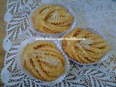 Arabic Dessert, Arabic Sweets, Arabic Food, Mini Desserts, Cookie Desserts, Cookie Recipes, Algerian Recipes, Big Mac, Beignets