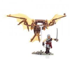 A 95-piece set that builds Leonardo Da Vinci's glider from Assassin's Creed 2.