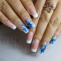 Hot Nail Designs, Pretty Nail Designs, Colorful Nail Designs, Acrylic Nail Designs, Spring Nails, Summer Nails, Work Nails, Special Nails, Long Acrylic Nails