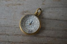 Hey, I found this really awesome Etsy listing at https://www.etsy.com/listing/268645001/antique-miniature-compass-thermometer
