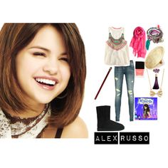 Alex Russo., created by beliebersforeverrss on Polyvore