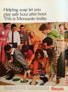Monsanto advertisement. LIFE, September 8, 1967.