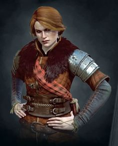 CERYS AN CRATE in Witcher 3