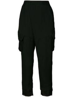 A.F.VANDEVORST Safari Pockets Cropped Trousers. #a.f.vandevorst #cloth #trousers