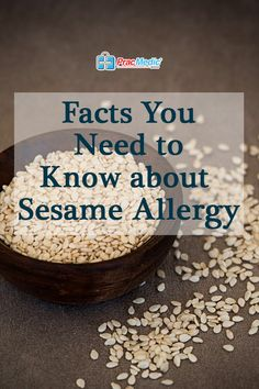 Facts You Need to Know about Sesame Allergy Sesame Allergy, Tree Nuts, Food Allergies, Seeds, Challenge, Knowledge, Facts, Breakfast, Videos