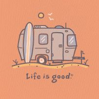 Be at home wherever you roam. #Lifeisgood #Optimism #Camper