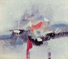 Paisagem Branca 1959 | Antonio Bandeira óleo sobre tela, c.i.d. 73.00 x 60.00 cm