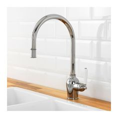 INSJÖN Kitchen faucet with pull-out spout - IKEA