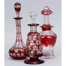 Image result for bohemian glass perfume bottles