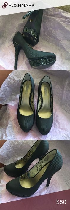 """Rachel Roy Black Stiletos Sexy 4"""" Black Stilettos. Size 7.5 great with any cocktail dress or skinny jeans . I just received them but they didn't fit : ( Rachel Roy Shoes Heels"""