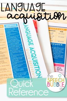 This quick reference is perfect for your speech or occupational therapy room!  Keep it handy at all times to check your students' progress.  This reference is FREE for my subscribers! #speech #therapy #SLP #classroom #data #FREEBIE #reference #ELA #language #SPED #development #printable