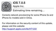 Apple Releases iOS 7.0.5 With Bug Fixes - http://www.aivanet.com/2014/01/apple-releases-ios-7-0-5-with-bug-fixes/