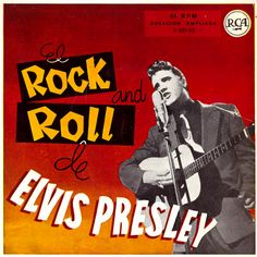 The worldwide RCA releases that sported a classic Wertheimer photo. Elvis Presley, El Rock And Roll, Young Elvis, Class Design, Stage Show, Lp Cover, Vintage Records, Extended Play, Rey