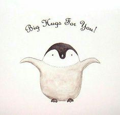 Items similar to Penguin Gift Big Hugs Penguin Art Penguin Decor Black & White Print Cute Office Decor Coworker Gift Friend Gift Cute Penguin Baby Penguin on Etsy Penguin Hug, Penguin Love, Cute Penguins, Penguin Parade, Happy Penguin, Big Hugs For You, Hug You, Pinguin Illustration, Cute Office Decor