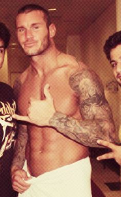 Randy orton naked towel