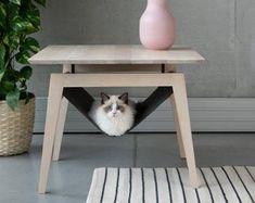Dog Cave, Diy Cat Tree, Bowls, Cat Hammock, Cat Playground, Animal Room, Cat Room, Cat Condo, Pet Furniture