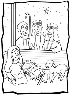 Baby Jesus Coloring Pages Procoloring