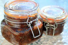 Gooseberry Chutney in Kilner Jars My Recipes, Pasta Recipes, Cooking Recipes, Favorite Recipes, Recipies, Christmas Chutney, Kilner Jars