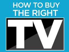 Buying a TV is more complicated than picking a screen size. Many new technologies are emerging — some are helpful, while some are just expensive hype. Tvs, Televisions, Smart Tv, Best Tv, Things To Know, New Technology, Need To Know, Budgeting, Screen Size