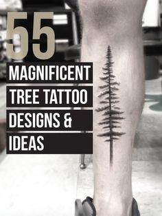 55 Tree Tattoo Designs