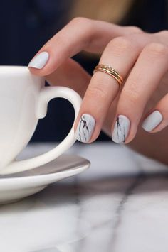 https://www.pinterest.com/myfashionintere/ Venice Collection by OPI | Stone Marble Nail Lacquer Art