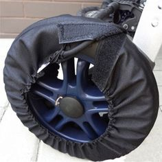 BS#S Hot Sale Useful Baby Stroller Dustproof Wheel Covers Baby Carriage Anti-dirty Dirtproof Pram Stroller Buggy Cochecitos