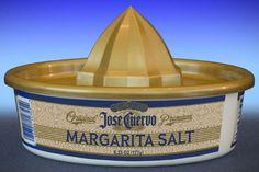 ** 2 Sauza Tequila Margarita Salt Sombrero Glass Rimmer 6.25 oz Rimming NEW **