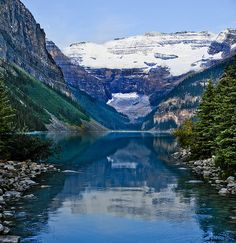Lake Louise  Alberta, Canada By Jim Boots