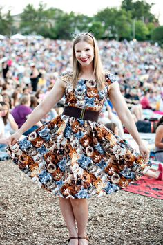 "Cat lovers in Minneapolis show off their best feline-themed attire and ""cattoos"" at the third annual event."