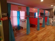Carnival Birthday Party Ideas | Photo 14 of 33 | Catch My Party