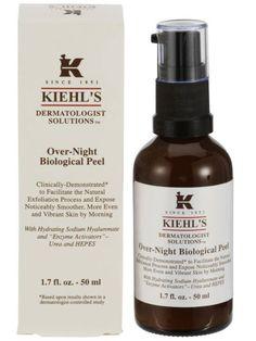 биологический ночной пилинг Over-Night Biological Peel, Kiehl's