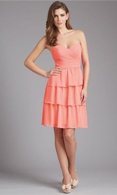 Look phenomenal in Allure Bridesmaids Layered Chiffon skirt is trimmed at knee length hem for a modest look. This amazing Chiffon gown showcases a strapless and sweetheart neckline. Allure Bridesmaid Dresses, Patterned Bridesmaid Dresses, Designer Bridesmaid Dresses, Bridal Dresses, Girls Dresses, Pink Bridesmaids, Party Dresses, Allure Bridals, Formal Gowns