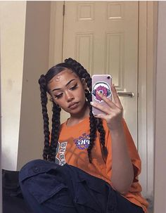 Fashion Tips Body .Fashion Tips Body Baddie Hairstyles, Box Braids Hairstyles, Cute Hairstyles, Braided Ponytail Hairstyles, School Hairstyles, Updo Hairstyle, Everyday Hairstyles, Black Girl Braids, Girls Braids
