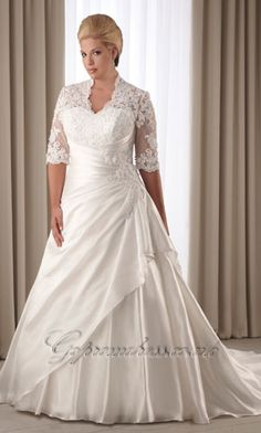 plus size wedding dresses with sleeves ...now go forth and share that BOW & DIAMOND style ppl! Lol. ;-) xx