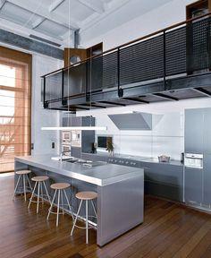 Loft kitchen / catwalk
