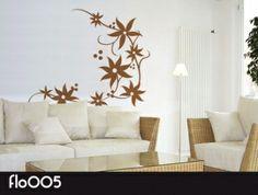 Flores todo el año con vinilo decorativo. #vinilosdecorativos #vinilosflores #autoadhesivos #decoración #hogar