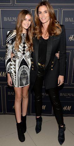 All Your Favorite Style Stars Went HAM Shopping Balmain x H&M Last Night