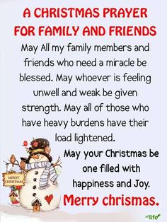 A Christmas Prayer For Family And Friends christmas christmas quotes religious christmas quotes christmas prayer christmas quotes for family and friends