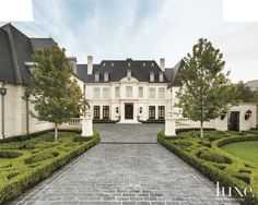 Here, a French, Neoclassical-Style residence in Dallas.  See more: http://www.luxesource.com.