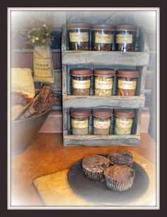 14 Best Country Spice Racks Images In 2014 Country Spice