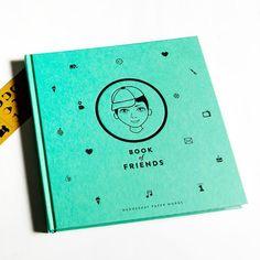 Freundebuch. Book of Friends YO von designupdate auf DaWanda.com