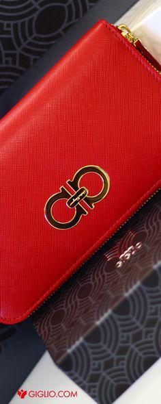 @ferragamo | Red Wallet zip-around #leather #gold #Christmas #gift http://www.giglio.com/eng/accessories-woman_wallet-salvatore-ferragamo-54994422b300.html?utm_source=pinterest&utm_medium=socialv&utm_campaign=ferragamoredwallet