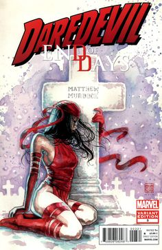 Daredevil: End of Days #3 Variant Cover by David Mack