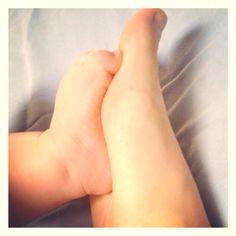 Feet - baby & mama