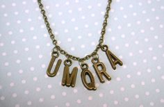 Sherlock UMQRA necklace by otterlydesign on Etsy, $20.00  A great looking necklace for every Sherlock fan, with the mysterious *cough* Morse code from The Hounds of Baskerville. Innuendo or confusion? It's up to you!