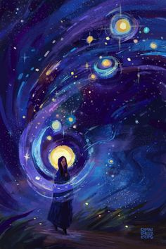 """Of the stars - Simini Blocker. I believe some people actually have the ability to """"see"""" this, even if it's only in their imagination."""