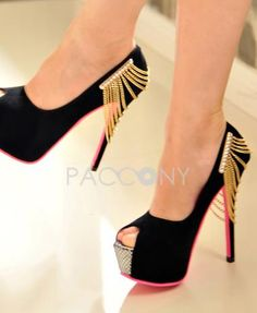 2013 Sexy Platform Open Toe Stiletto High Heeled Pumps