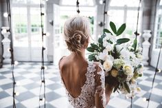 LUXE WEDDING, CAMPBELL POINT HOUSE #BERTA dress <3